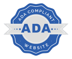 ADA compliance logo to certified website